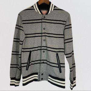 Brooklyn Cloth Varsity Jacket w/ fleece lining